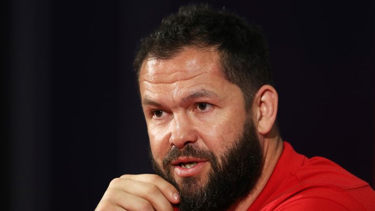 Andy Farrell insists the Lions are unfazed by Hansen's comments
