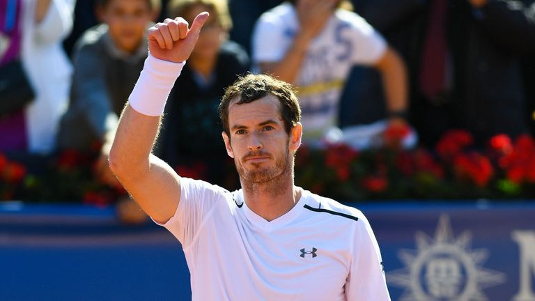 Murray was defeated by Fabio Fognini which followed another disappointing defeat last week to Borna Coric