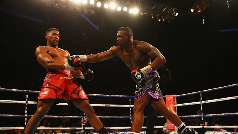 Whyte defeated Joshua in the amateur ranks before a professional loss in 2015