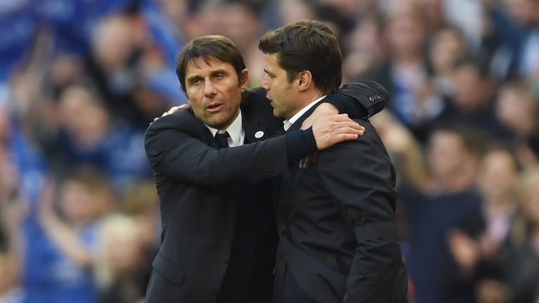 Mauricio Pochettino says there is no problem between him and Antonio Conte