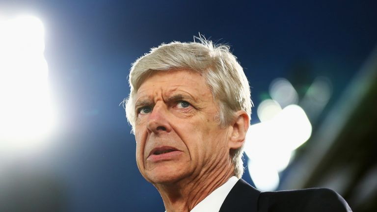 Arsene Wenger says Arsenal must win every remaining match to have any hope of a top four finish