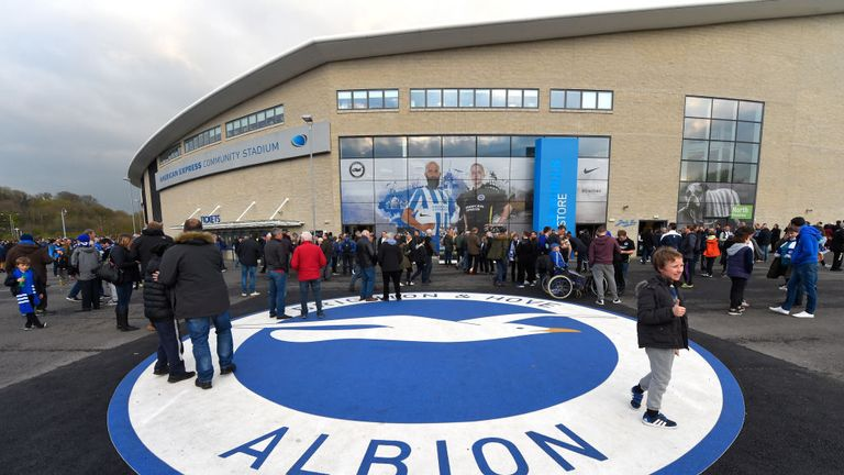 Brighton return to Premier League after 34-year absence