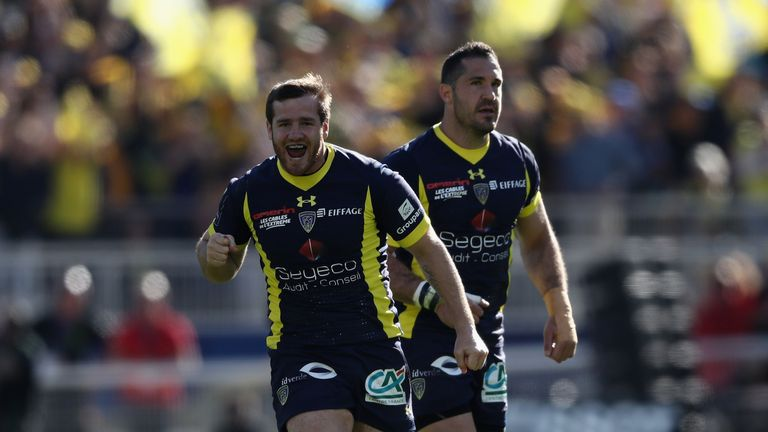 Camille Lopez helped Clermont close out the semi-final against Leinster