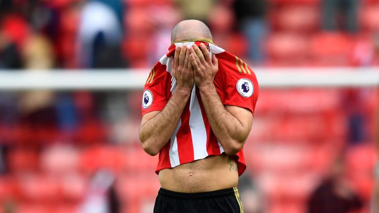 Sunderland are staring relegation in the face after spirited draw