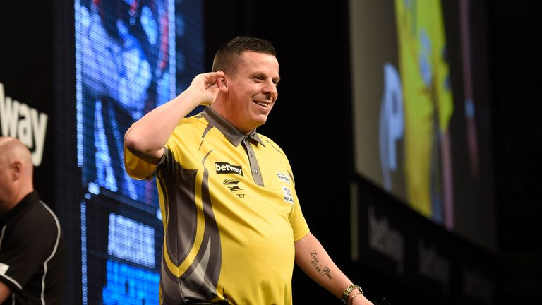 Dave Chisnall enjoyed a productive night on the Belfast stage