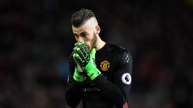 De Gea has been repeatedly linked with a transfer to Real Madrid
