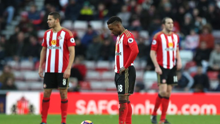 Sunderland relegated after defeat to Bournemouth