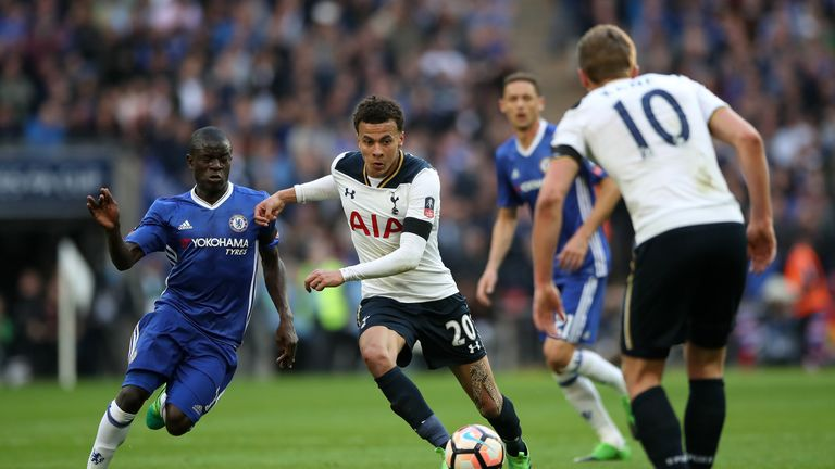 Chelsea will be Tottenham's first Premier League visitors at Wembley