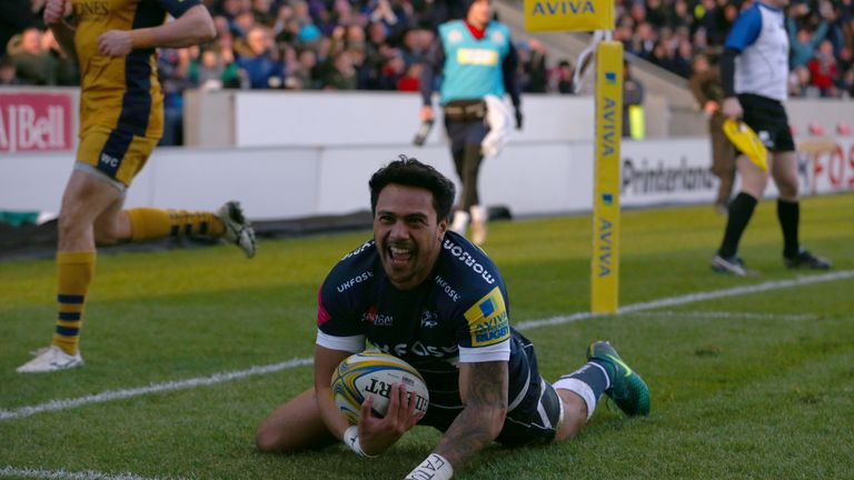 Rugby league convert Denny Solomona is in the squad