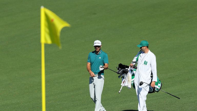 Johnson remains hopeful of recovering in time to tee off in the first round