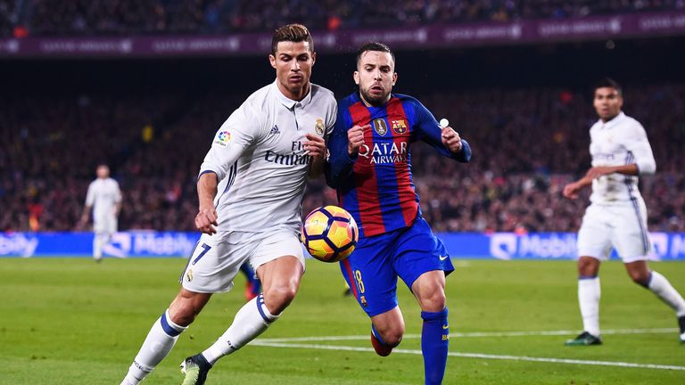 Real Madrid and Barcelona shared a 1-1 draw earlier in the season