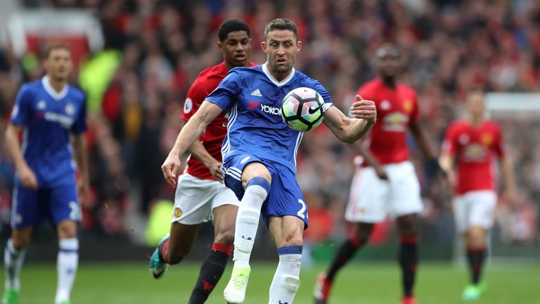Chelsea's Gary Cahill could miss the Wembley clash