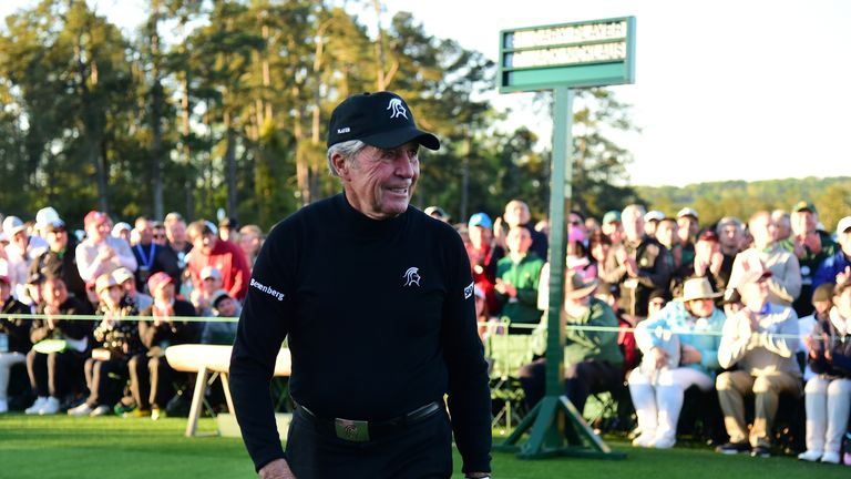 Gary Player is a three-time winner of The Open