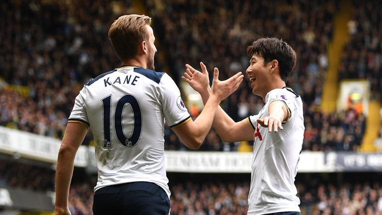 Harry Kane and Heung-Min Son were on target in Tottenham's win over Bournemouth