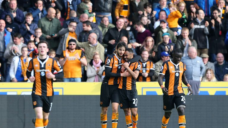 Hull beats Middlesbrough 4-2, out of EPL relegation zone