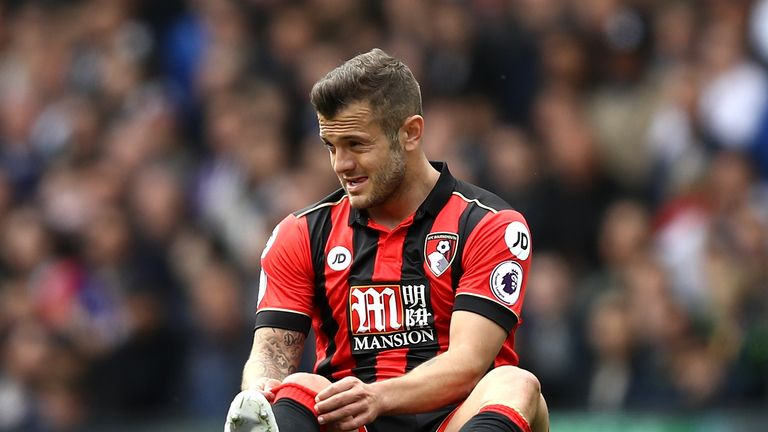 Jack Wilshere faces another spell on the sidelines