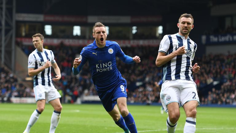 Jamie Vardy has profited from Leicester's counter-attack play