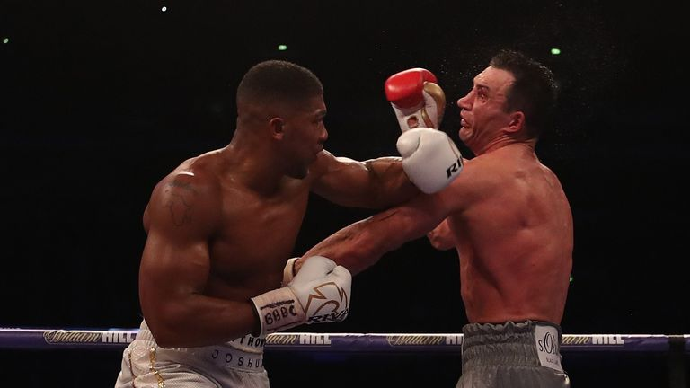 Joshua preserved his unbeaten record in an epic battle with Wladimir Klitschko