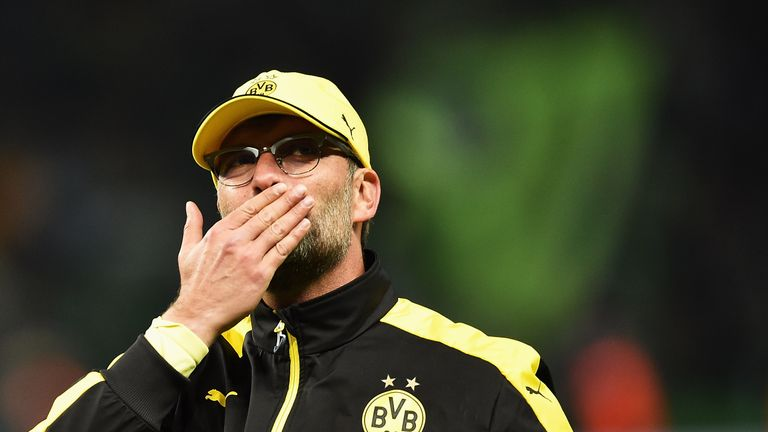 Jurgen Klopp guided Dortmund to back-to-back league titles in 2011 and 2012