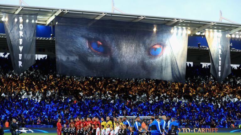 Leicester reached last season's Champions League quarter-finals