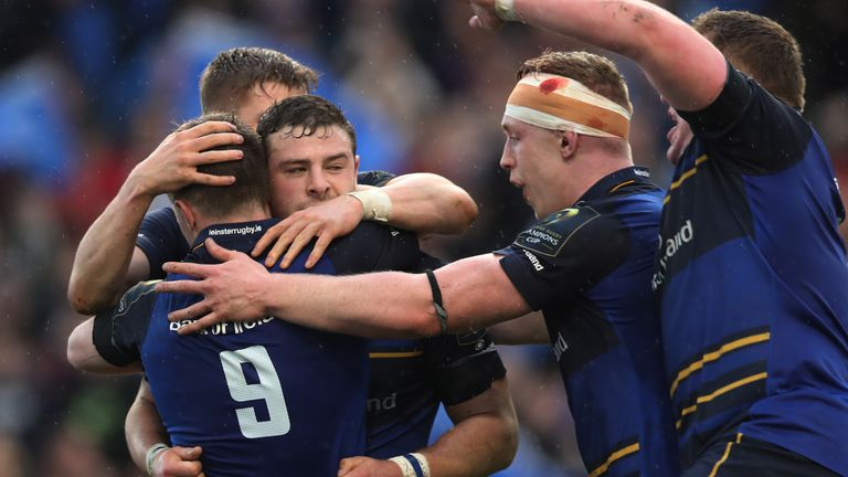 Leinster host Scarlets in the first PRO12 semi-final at the RDS on Friday