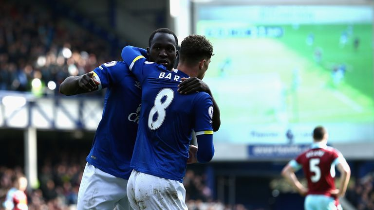 Romelu Lukaku and Ross Barkley have been in fine form since the turn of the year