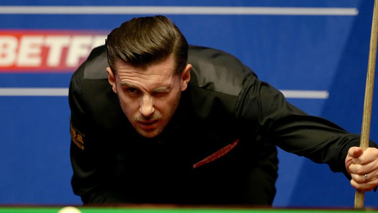 Mark Selby is three frames away form the last eight in Sheffield