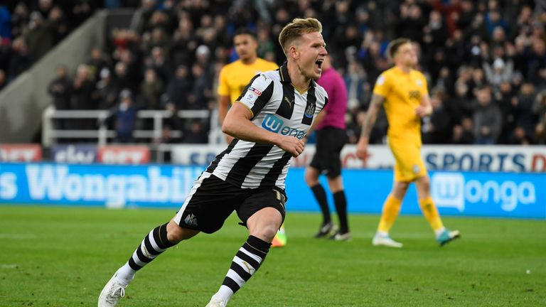 Newcastle's Matt Ritchie has withdrawn from the Scotland squad