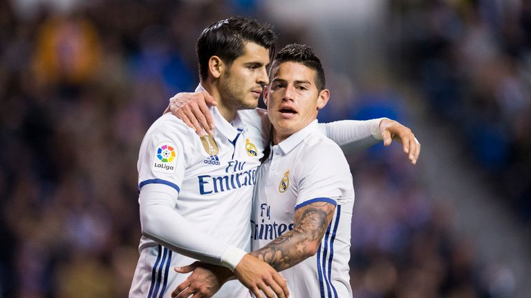 Rodriguez was left out of the Real Madrid's squad for last season's Champions League final