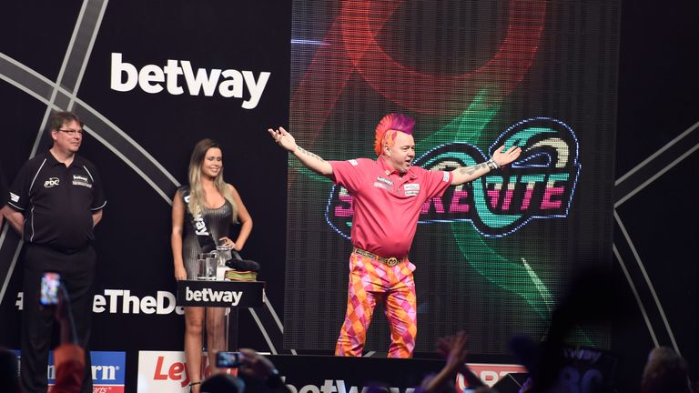 Peter Wright has already secured an O2 debut, and still has eyes for top spot