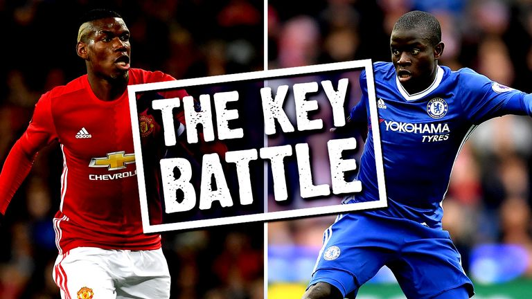 Will Paul Pogba or N'Golo Kante come out on top at Old Trafford?