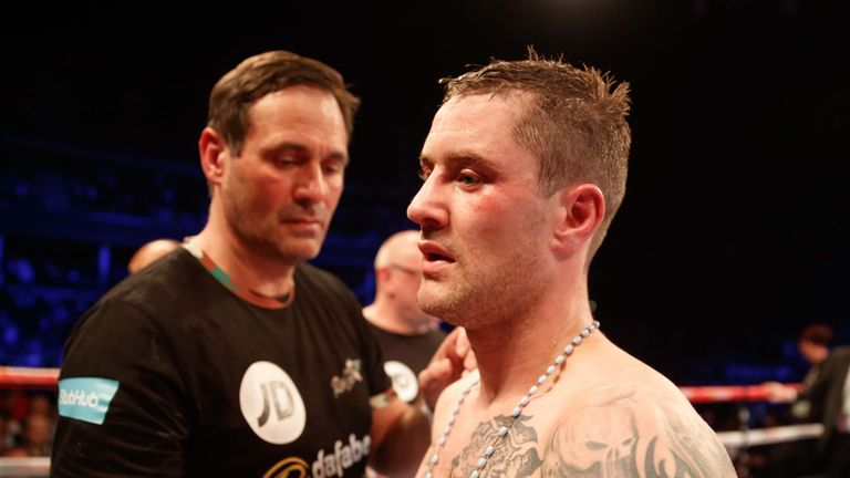 Ricky Burns lost his unification fight against Julius Indongo in Glasgow