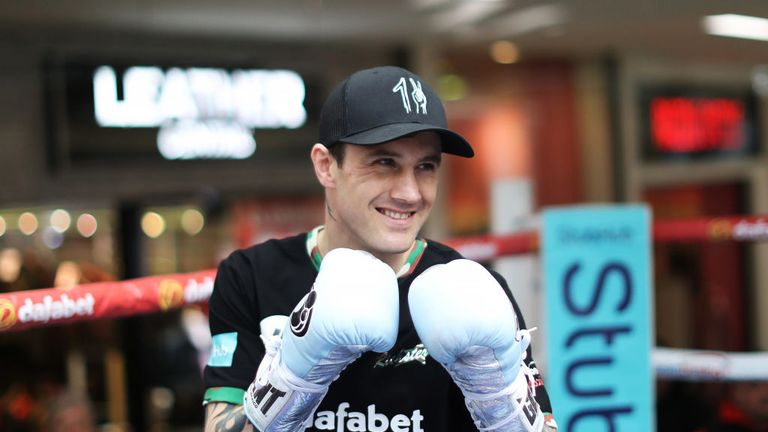 Burns hopes his return to lightweight will see him perform to his best ability