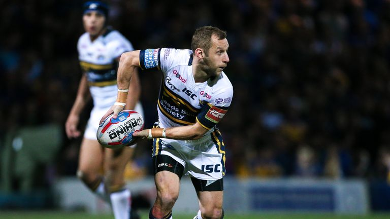 Rob Burrow in action for Leeds