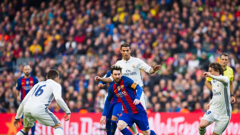 Watch Lionel Messi and Cristiano Ronaldo on the new Sky Sports Football channel