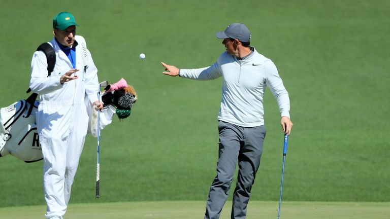 McIlroy and Fitzgerald have been paired up for almost a decade
