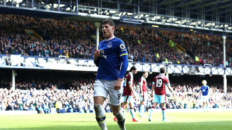 Ross Barkley is yet to commit his long-term future to the Toffees