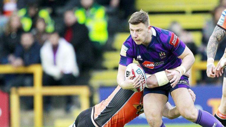 George Williams is pivotal to Wigan's attack