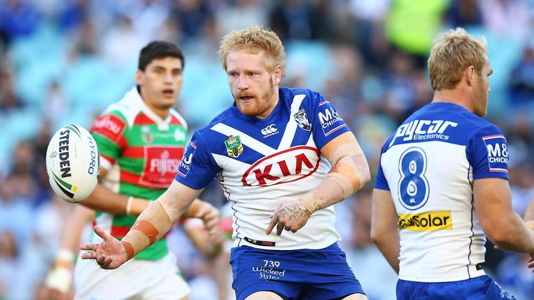 Bulldogs captain suffered a suspected concussion at the weekend