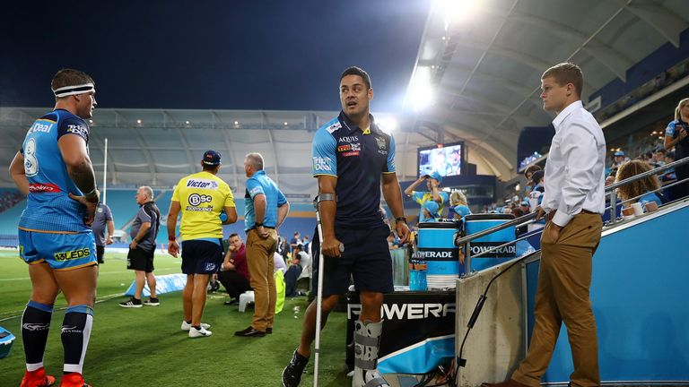 Jarryd Hayne is poised to return for the Titans