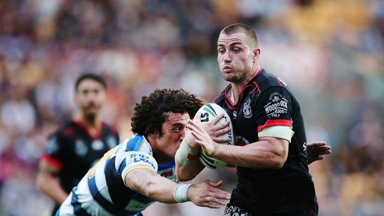 Kieran Foran has been linked with a move from the Warriors back to Sydney