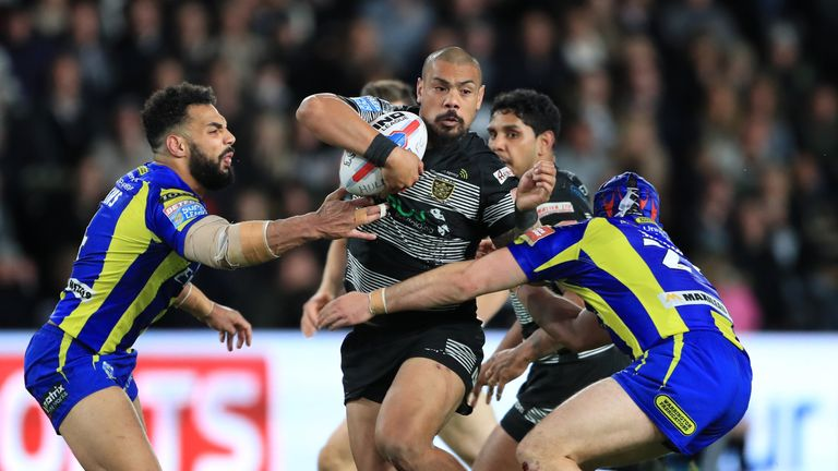 Sika Manu returns from suspension for Hull FC