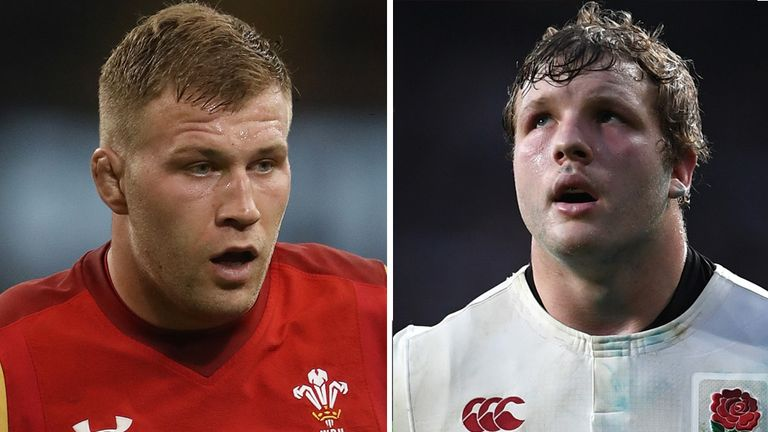 Wales forward Ross Moriarty has been included by the Lions but Joe Launchbury misses out