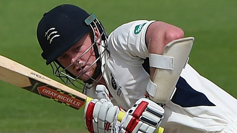 Sam Robson scored an unbeaten hundred for Middlesex against Yorkshire