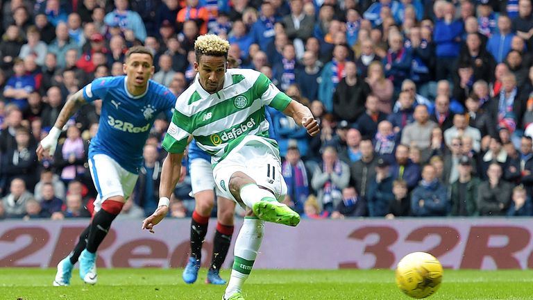 Scott Sinclair scored the opening goal from the penalty spot