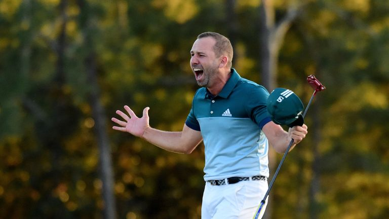 Sergio Garcia's major heartbreak was forgotten at Augusta in April
