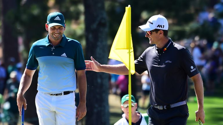 Garcia claimed play-off victory over Rose at Augusta