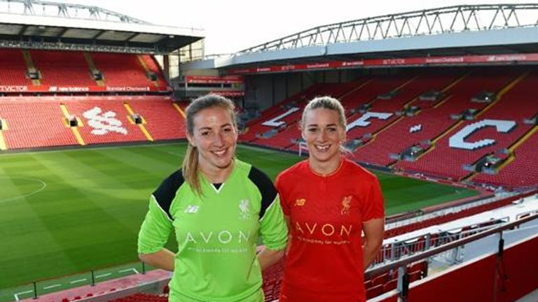 Liverpool announce deal with Avon (pic: Andrew Powell/Liverpool FC)