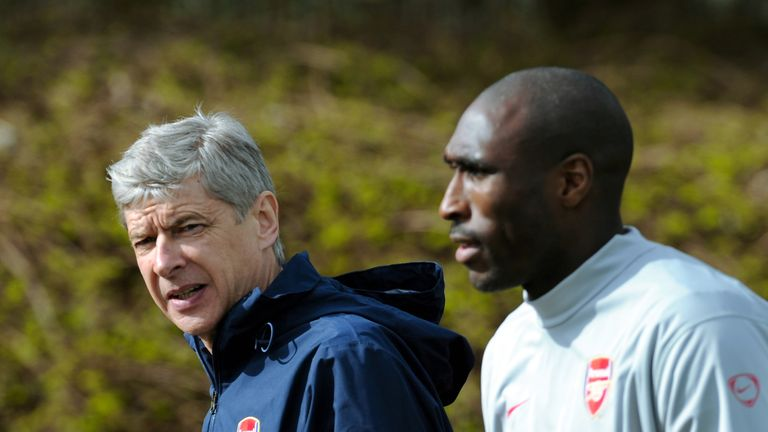 Sol Campbell was a key figure in Arsene Wenger's re-shaped Arsenal defence