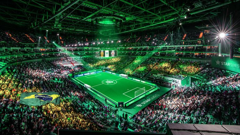 Okocha will be appearing at Star Sixes at the O2